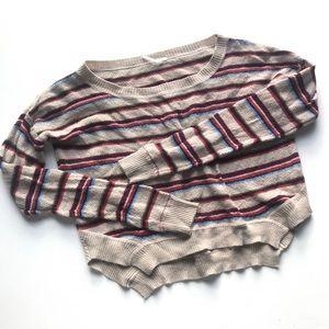 Free People Beach Roadtrip Stripe Sweater